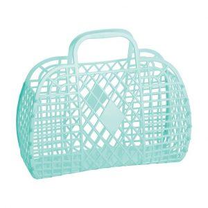 Sun Jellies Retro Basket Mint