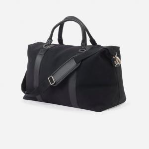 Canvas Weekender Bag Black