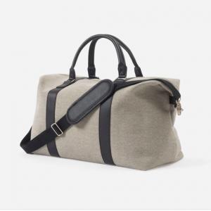 Canvas Weekender Bag Grey