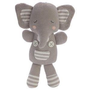knitted soft toy eli the elephant central coast nsw