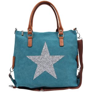 Sassy Duck bags star power canvas bag