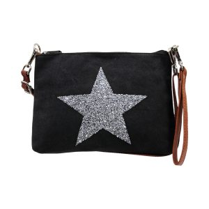 Sassy Duck bags star power wristlet black