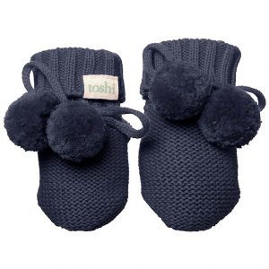 TOSHI Booties Marley Midnight babywear