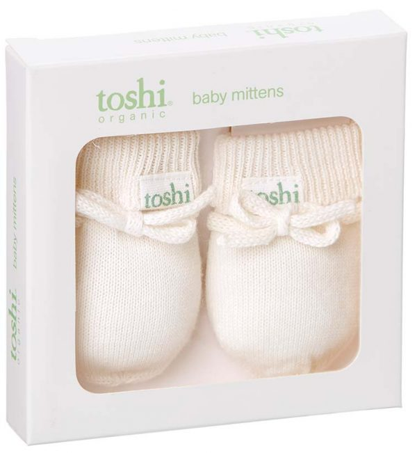 TOSHI Mittens Marley Cream Babywear