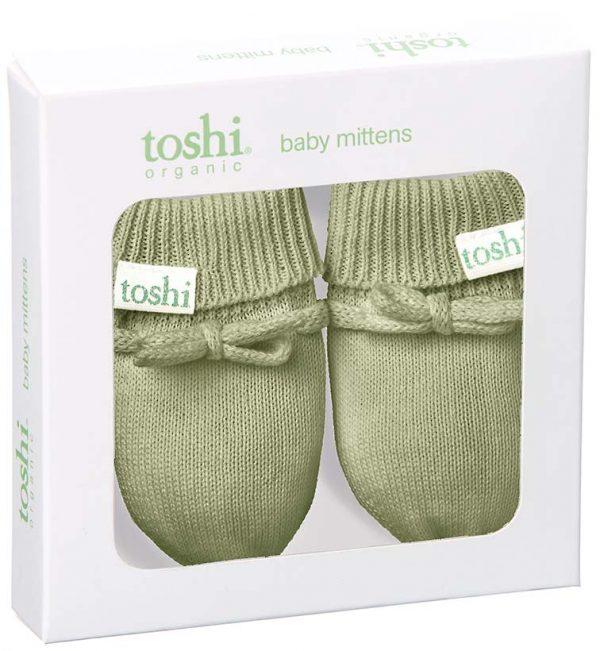 TOSHI Mittens Marley Sage babywear