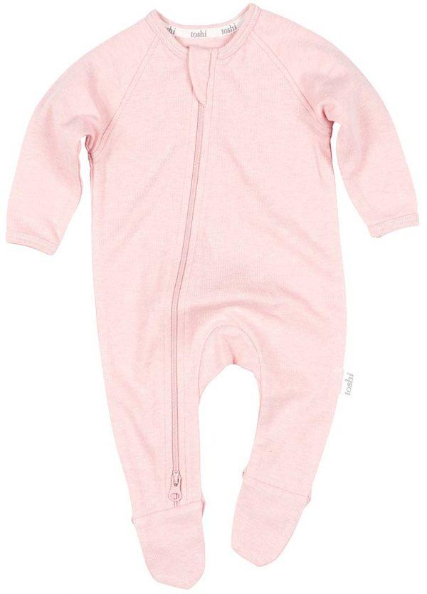 Organic Onesie Long Sleeve Dreamtime Cashmere