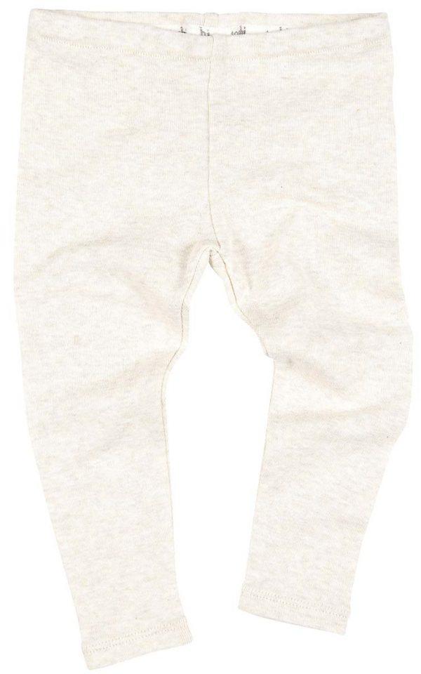 TOSHI Organic Tights Oatmeal babywear neutrals non gender