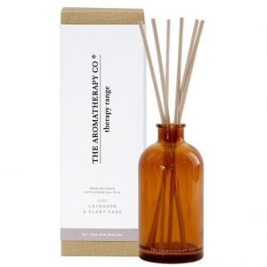 Lavender & Clary Sage fragrance diffuser by The Aromatherapy Co