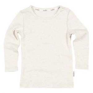 Organic Long Sleeve Tee Oatmeal