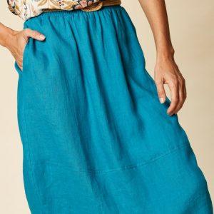 Tribu Skirt Cyan