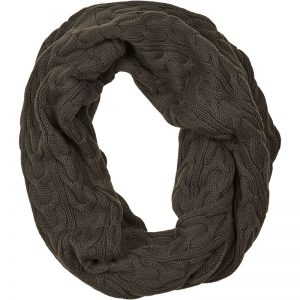 Vera Snood Charcoal scarf