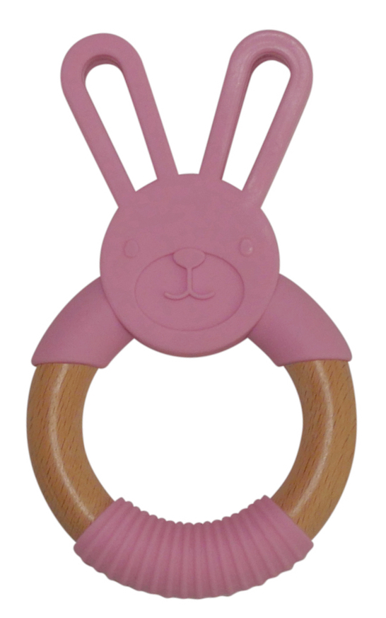 Bunny Winiteether Pink Winibeads Baby Gifts