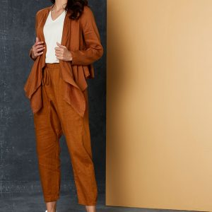 Eb&ive Bask Jacket Caramel Women's Fashion